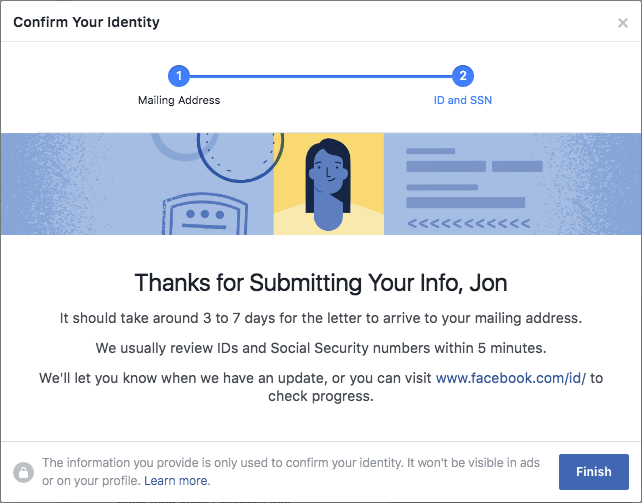 Facebook-page publish-authorization-complete