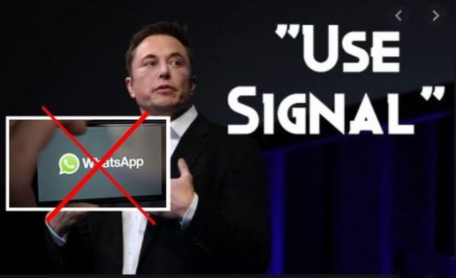 delete whatsapp use signal messneger